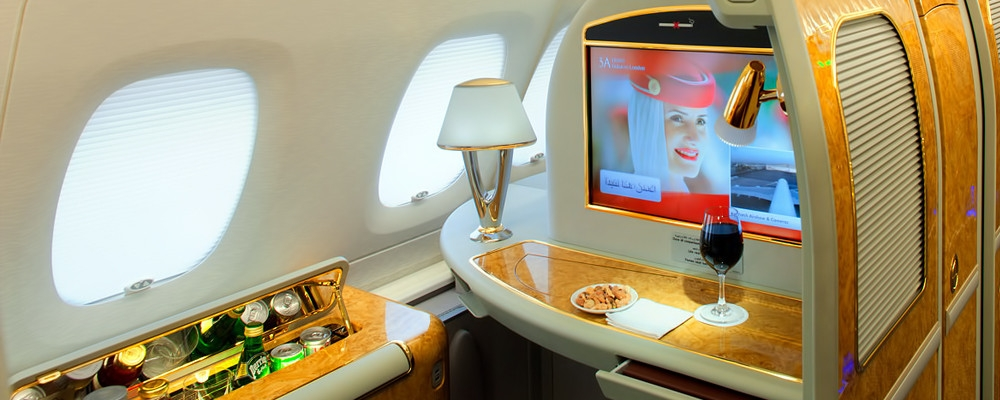 Toto je najlepšie sedadlo prvej triedy leteckej spoločnosti Emirates c