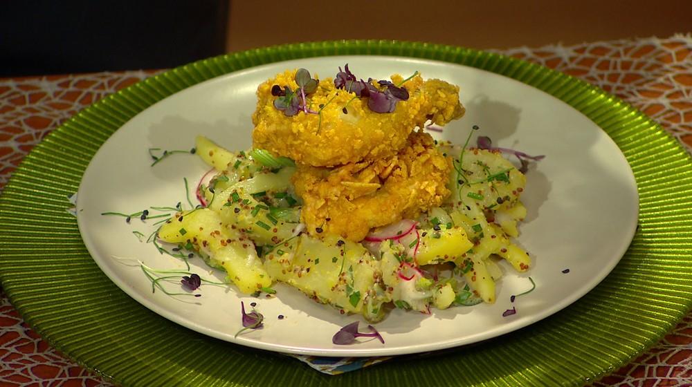 Moja mama - Vypražené kurča zemiakový šalát
