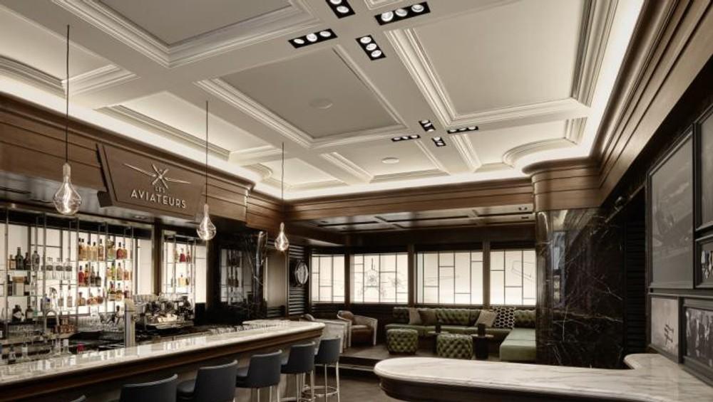 Whisky bar Les Aviateurs v Ženeve