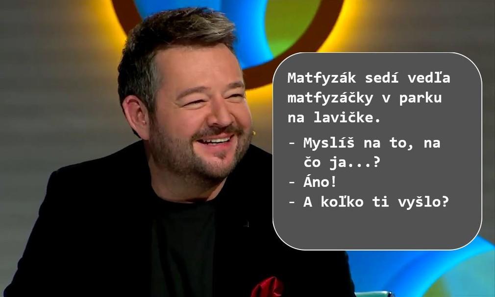Inkognito - Mišov vtip o matfyzákovi a matfyzáčke