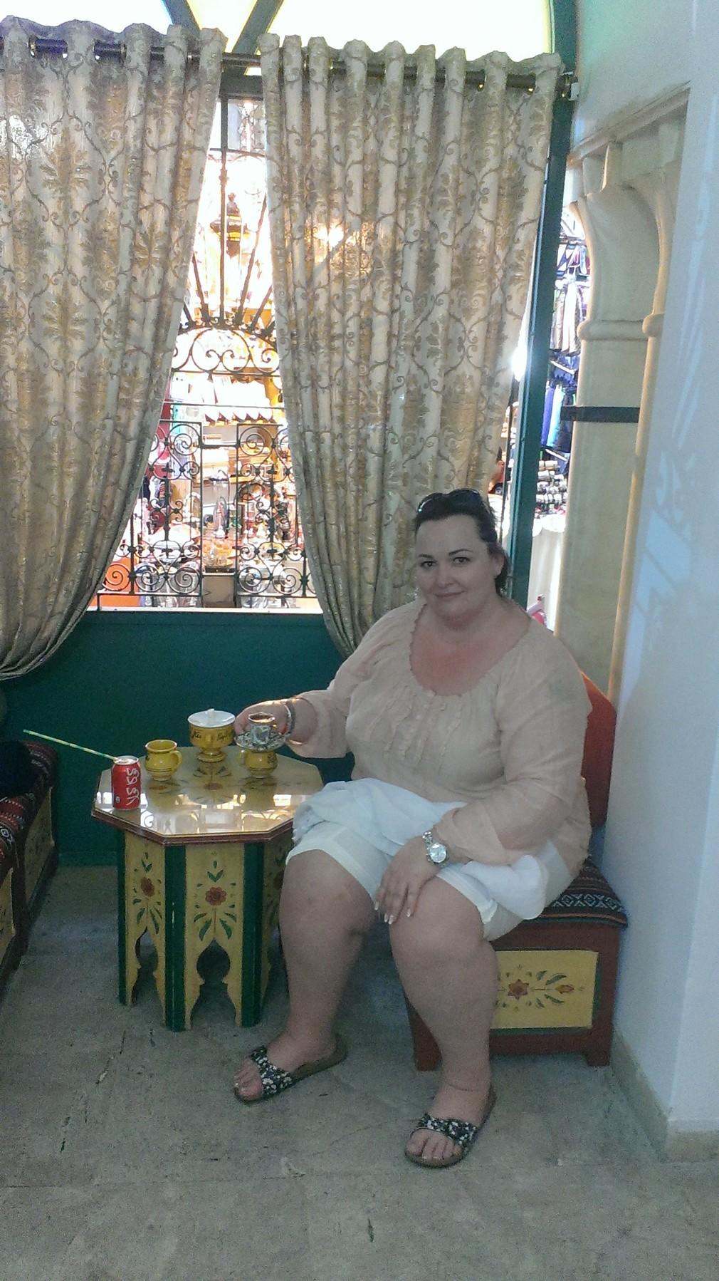 Názlerová v Tunise 1