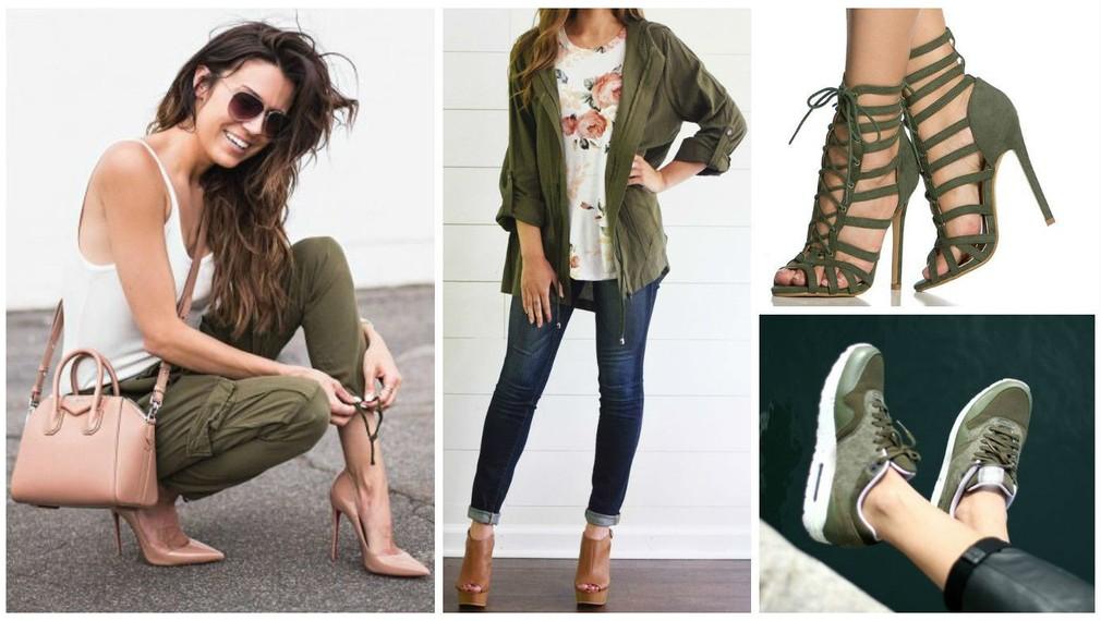 2ea5ba55d46f V móde opäť kraľuje vojenská zelená  Naučte sa ju kombinovať a budete za  hviezdu!