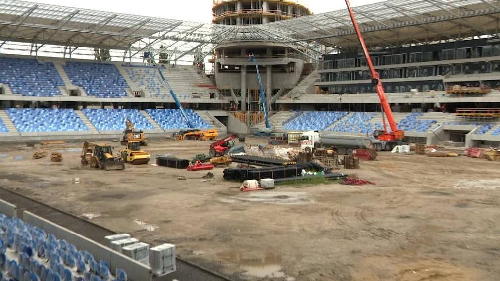 Výstavba Národného futbalového štadióna v Bratislave sa blíži do finále4312