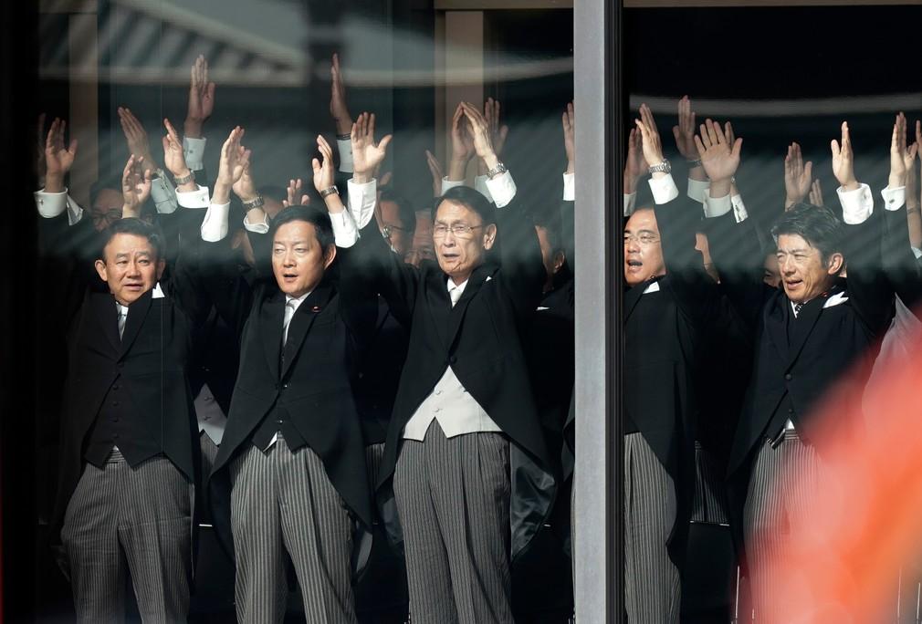 Cisár Naruhito oficiálne nastúpil na trón. Takto vyzeral slávnostný ceremoniál