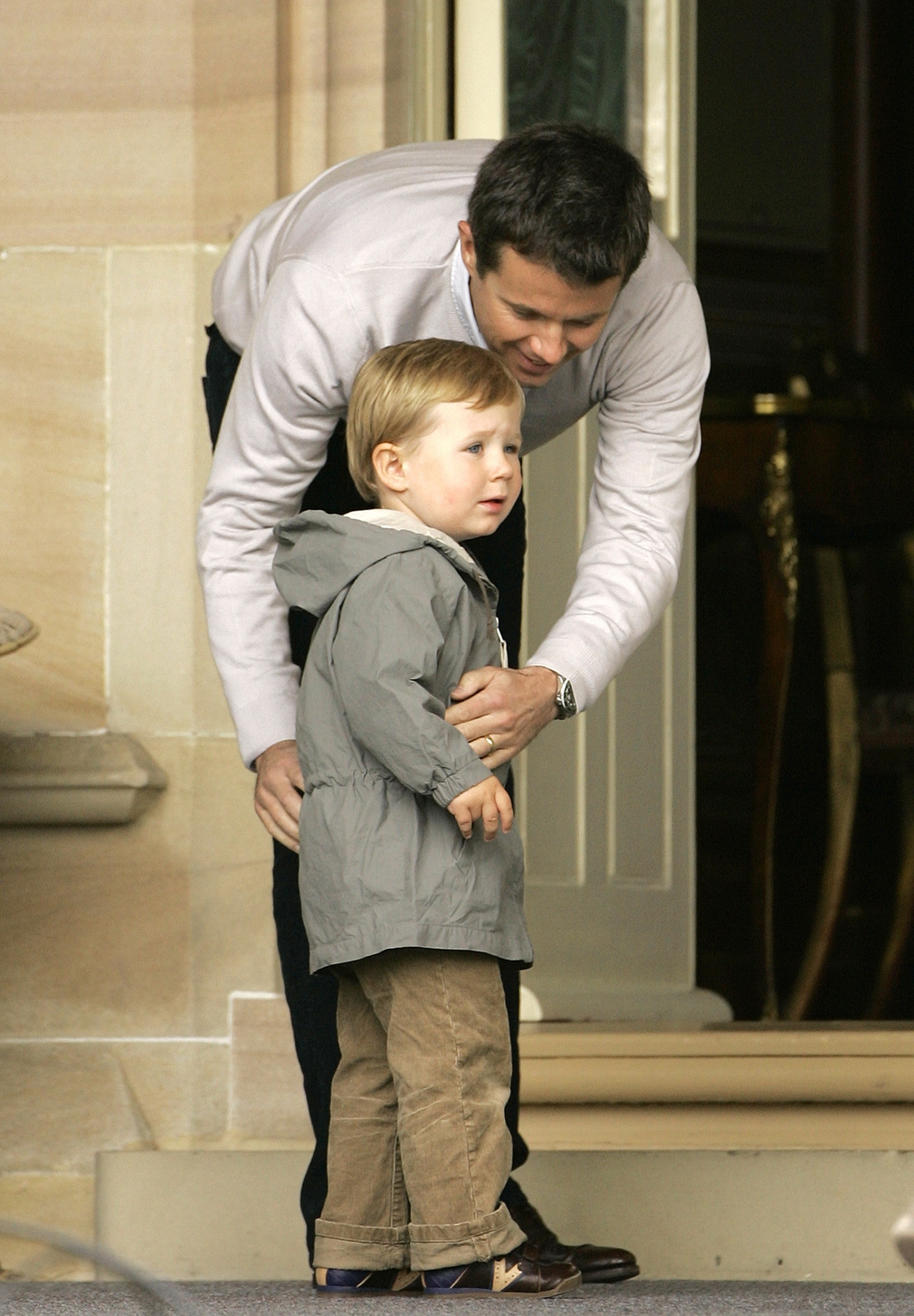 Princ Christian s otcom Frederikom
