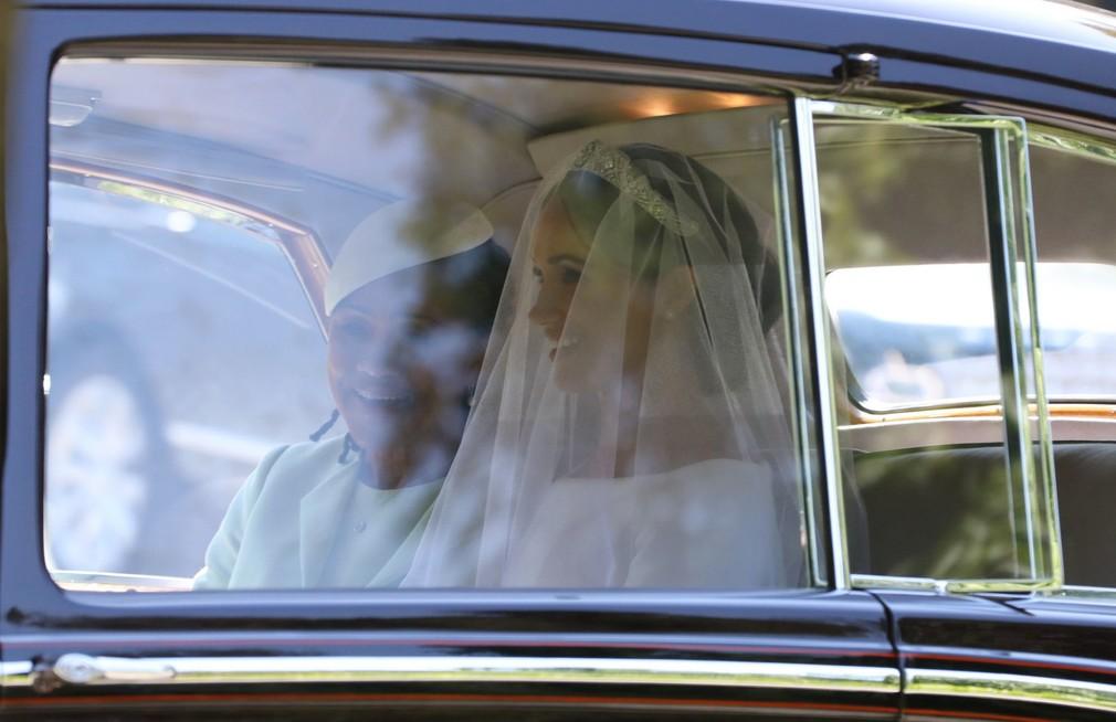 Meghan s matkou v aute