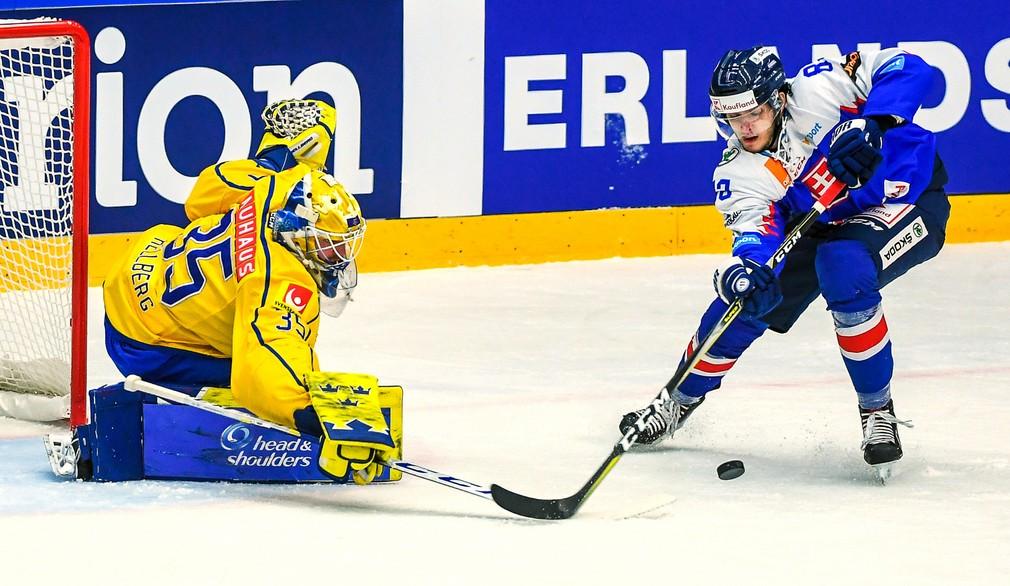 Hokej príprava, Švédsko - Slovensko