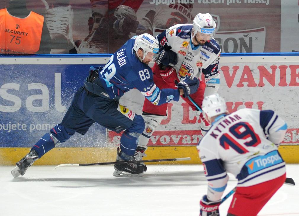 3.semifinále Slovnaft play-off HK Nitra - HKM Zvolen