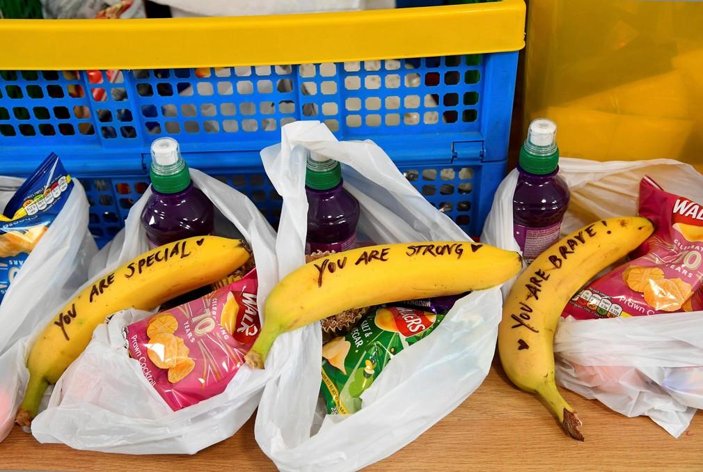 Banány s odkazmi