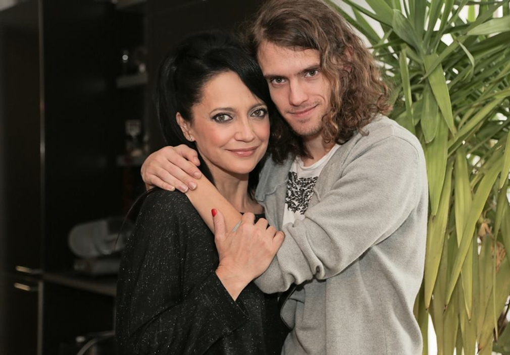Filip Kratochvíl s mamou