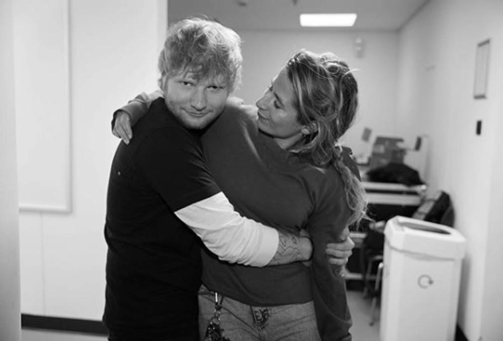 Ed Sheeran a manzelka