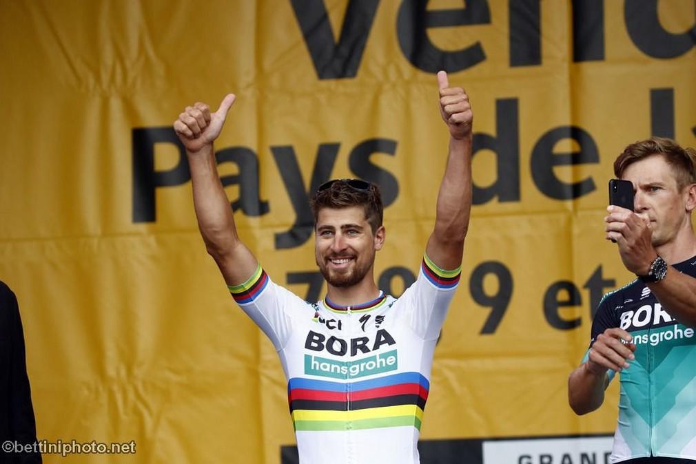 Peter Sagan v úvodnej etape Tour de France