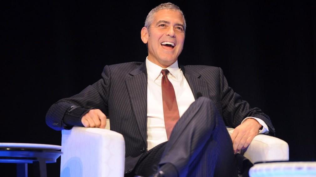 George Clooney vysmiaty