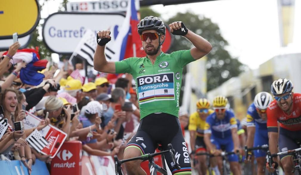 Sagan víťaz 5.etapy na TdF