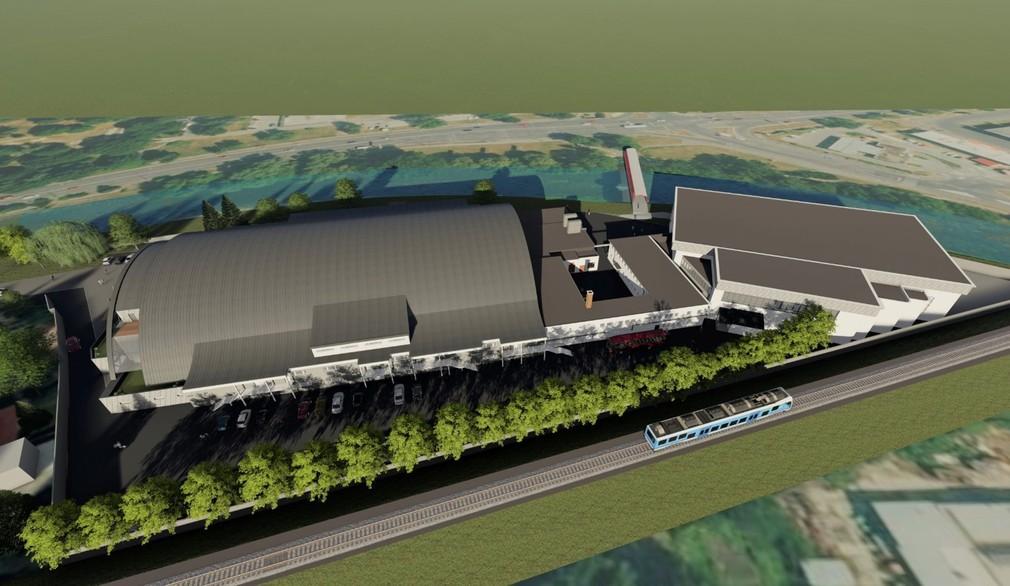 Návrh na novú podobu hokejového štadióna Banskej Bystrice (3.12. 2020)