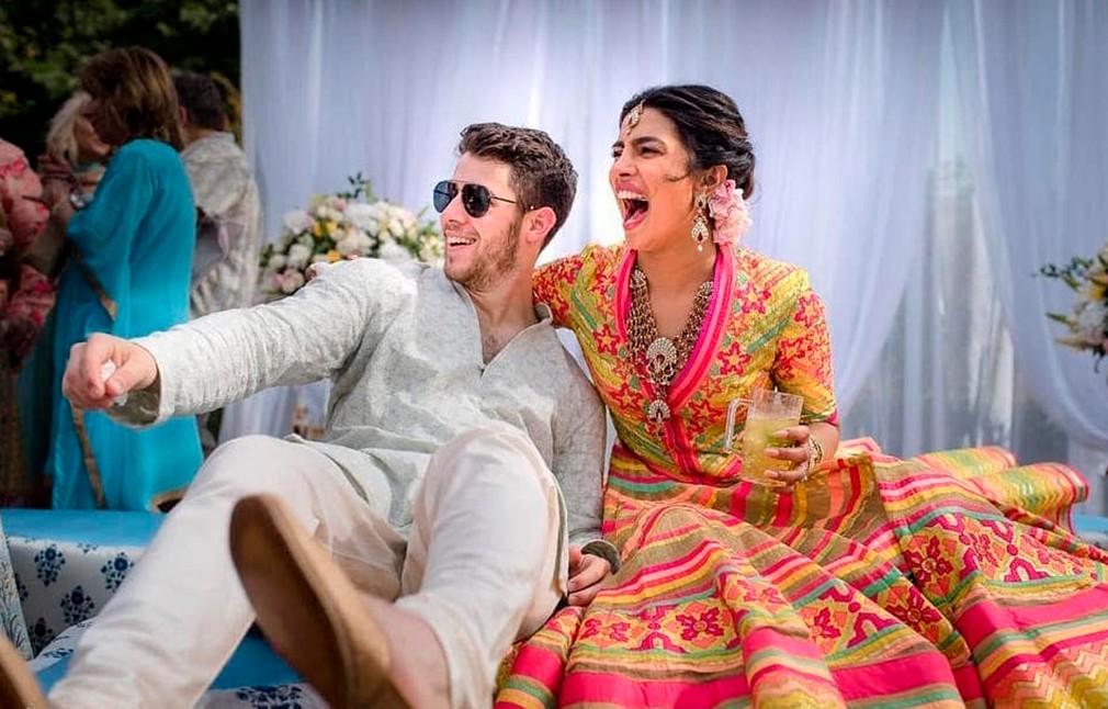 Svadba Priyanky a Nicka