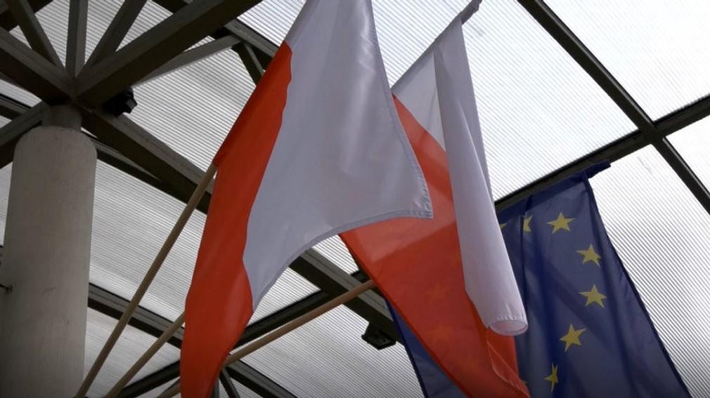 poľská a slovenská zástava