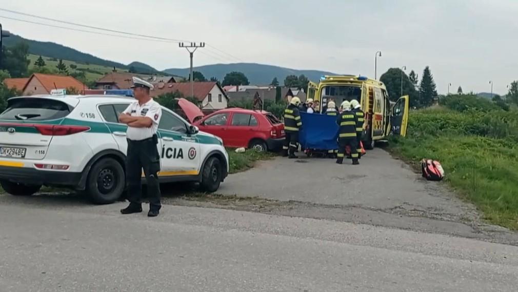 Tragická zrážka auta s vlakom
