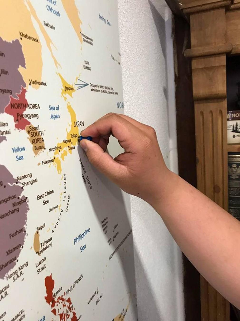 Oravakafe - mapa