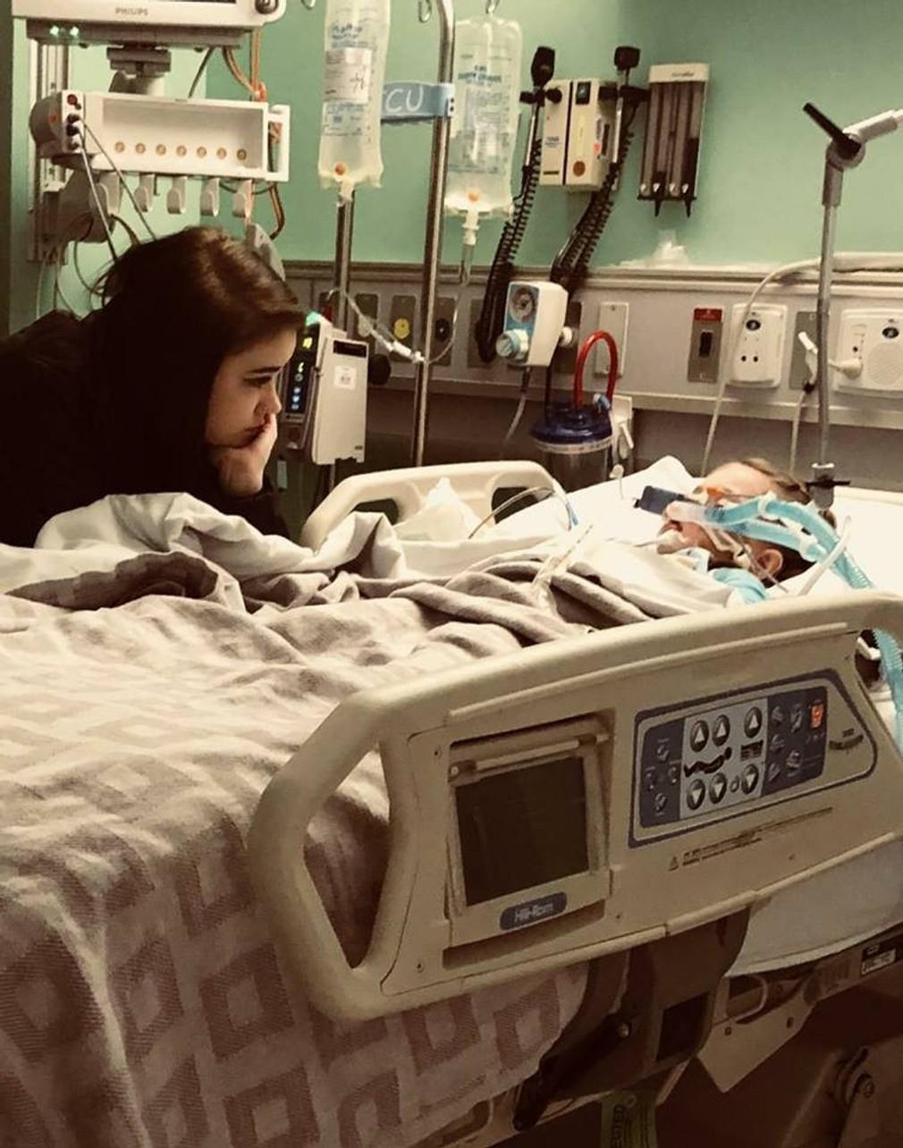 Ally Parker Braylynn nemocnica choré dievča 3