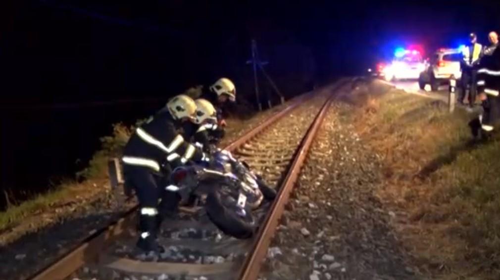 Nehoda motorkár Spišská Belá