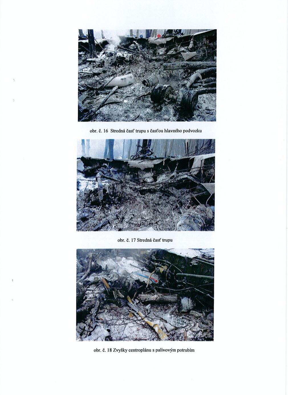 Odtajnený spis havárie lietadla v  Hejciach