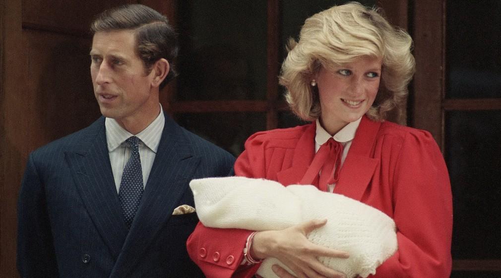 Princ Charles a princezná Diana