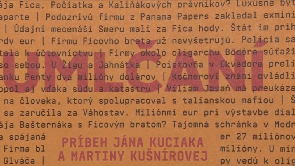 Umlčaní. Kniha o Jánovi Kuciakovi a Martine Kušnírovej