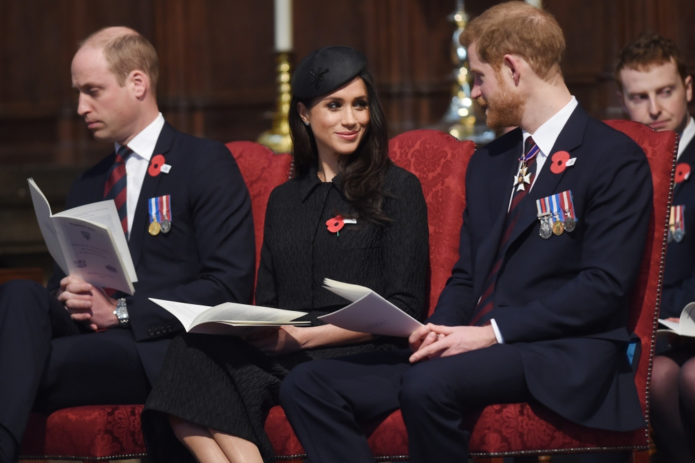 William, Meghan a Harry