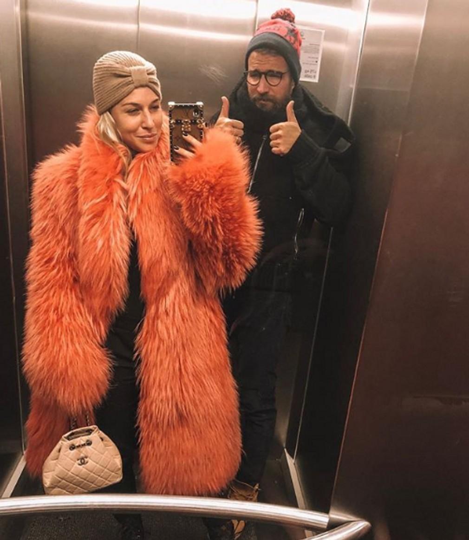 Dominika Cibulková a jej kožuchy