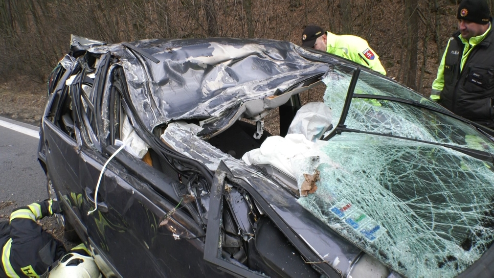 Nehoda Podkriváň