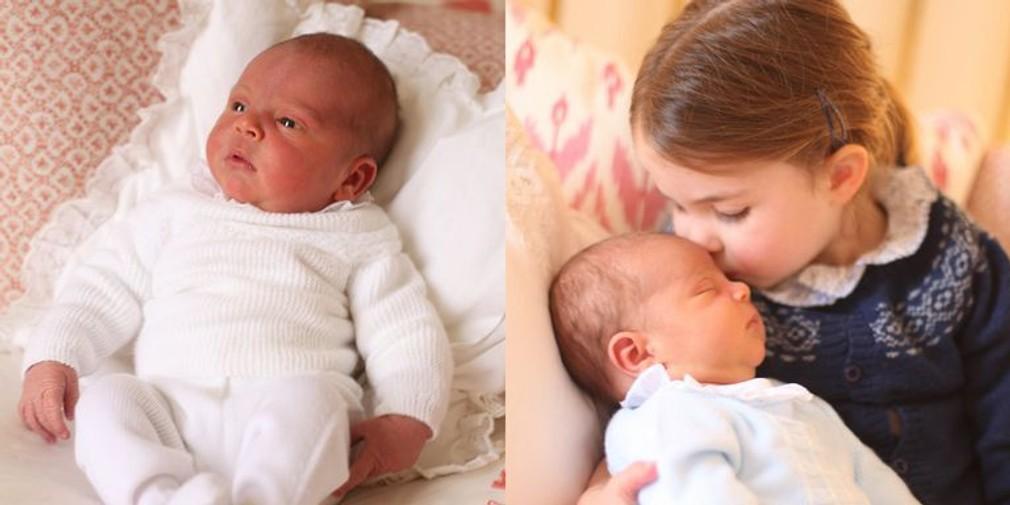 Princ Louis so sestrou Charlotte