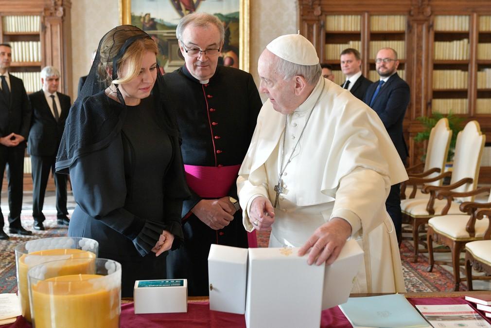 Čaputová Pápež