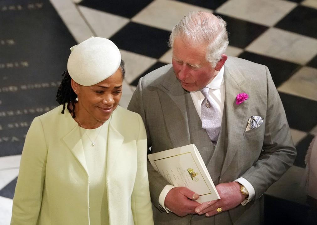 Doria Ragland s princom Charlesom