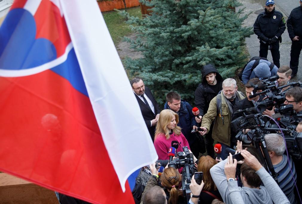 Zuzana Čaputová, voľby prezident 2019
