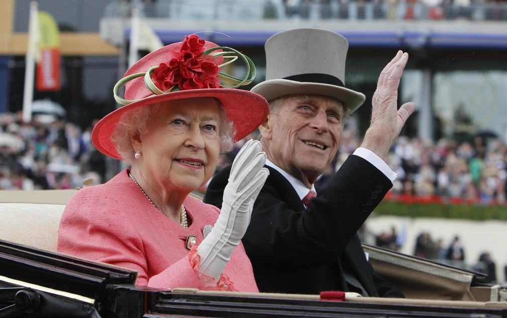 Alžbeta s princom Philipom