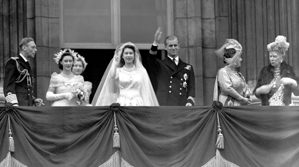 Alžbeta a Philip - svadba