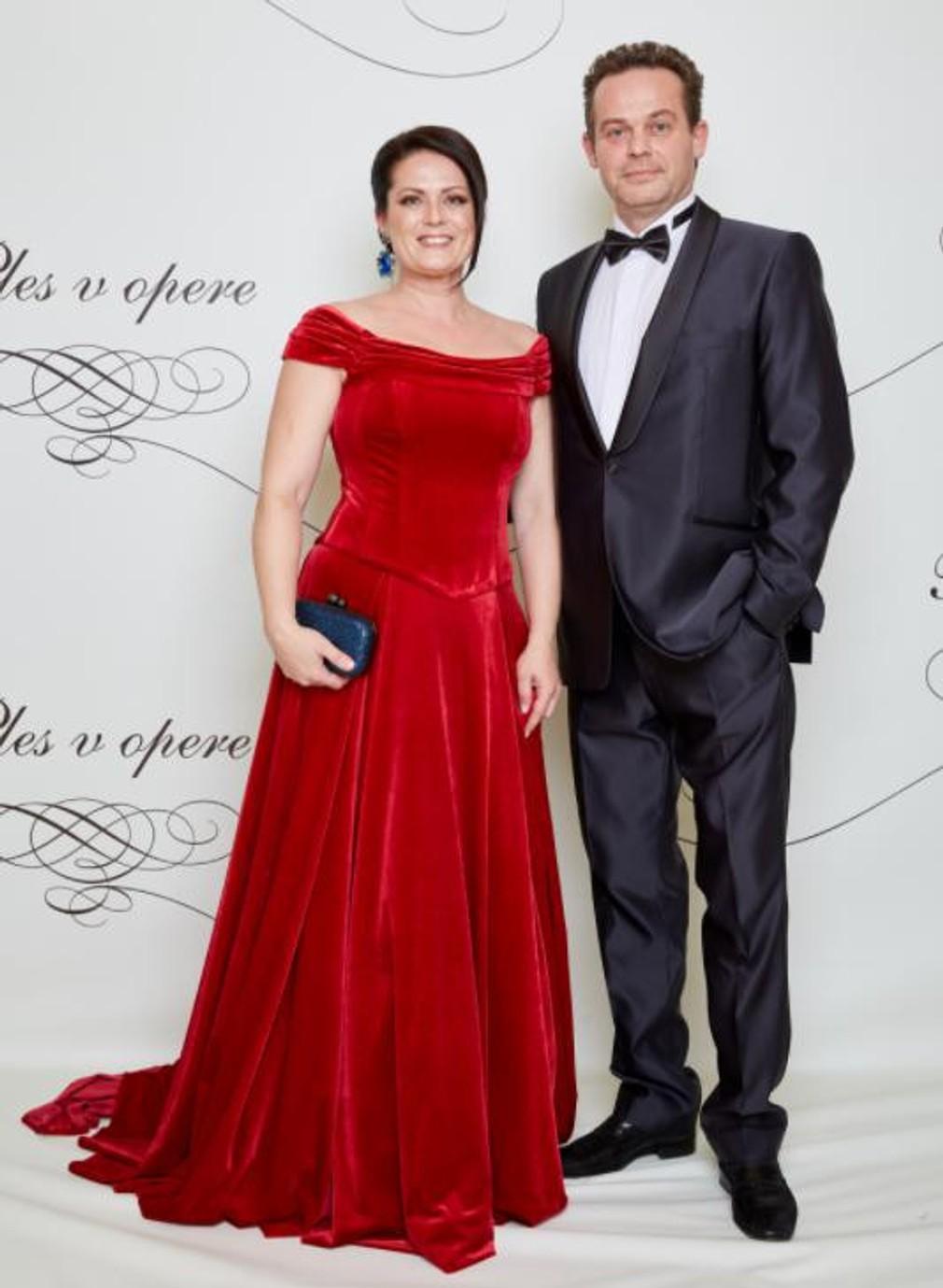 Marián Miezga s manželkou