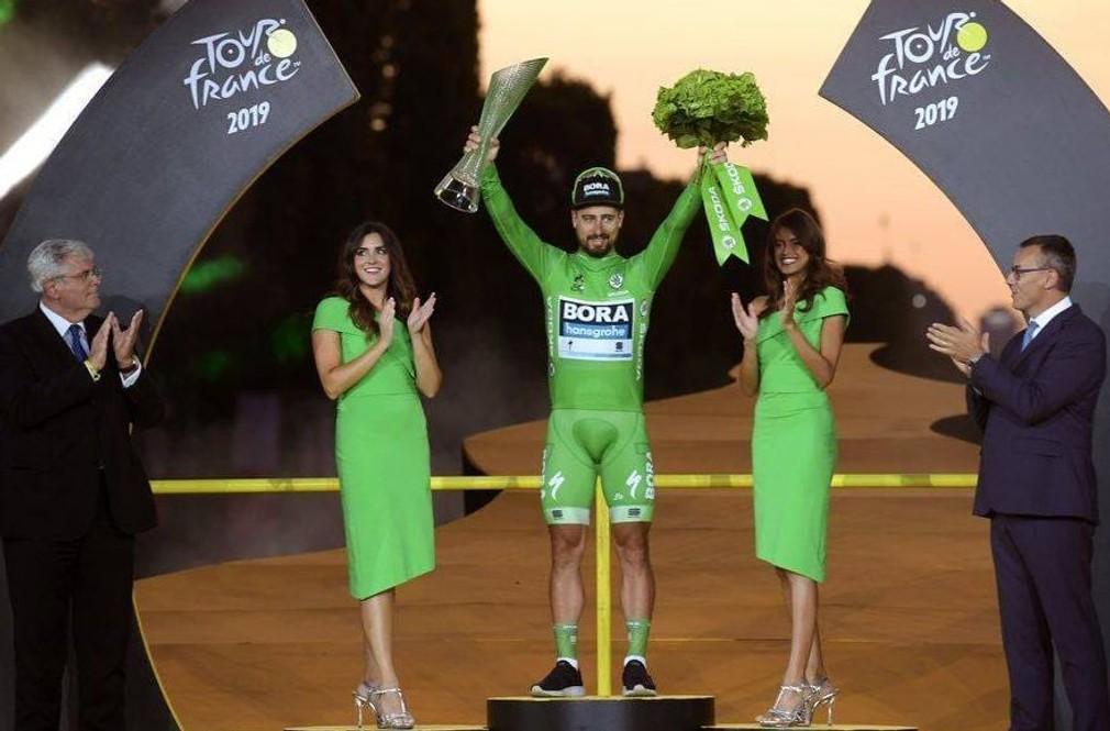 Sagan po siedmykrat v zelenom na TdF