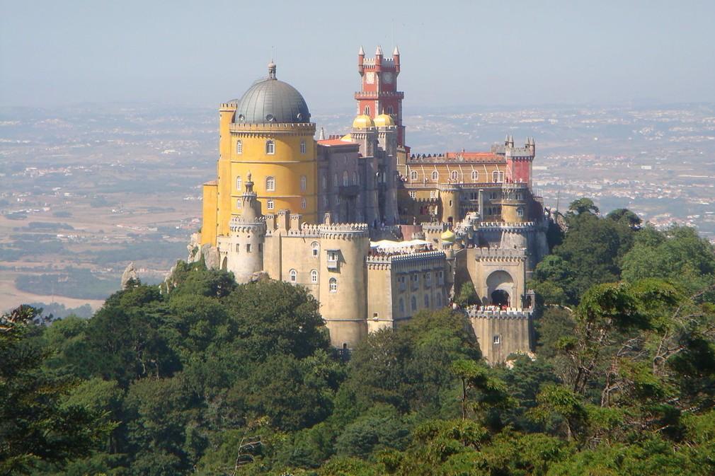 Palác Pelacio de Pena, Portugalsko