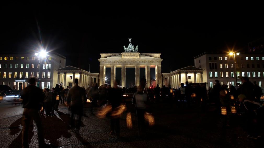 Hodina Zeme - Brandeburská brána v nemeckom Berlíne