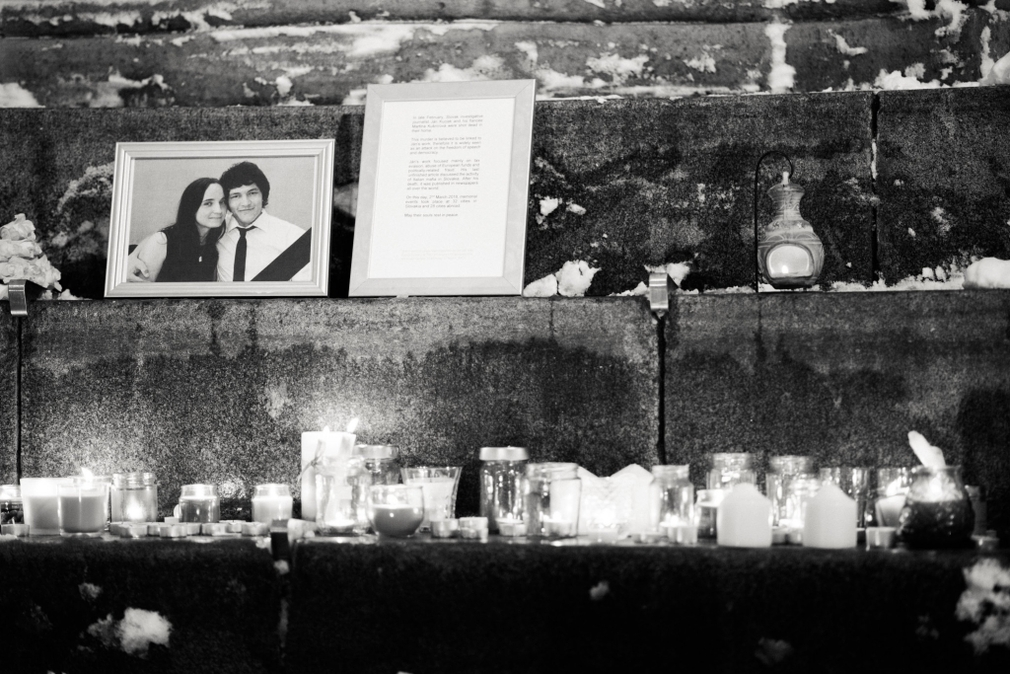 Edinburgh, spomienka na Jána Kuciaka