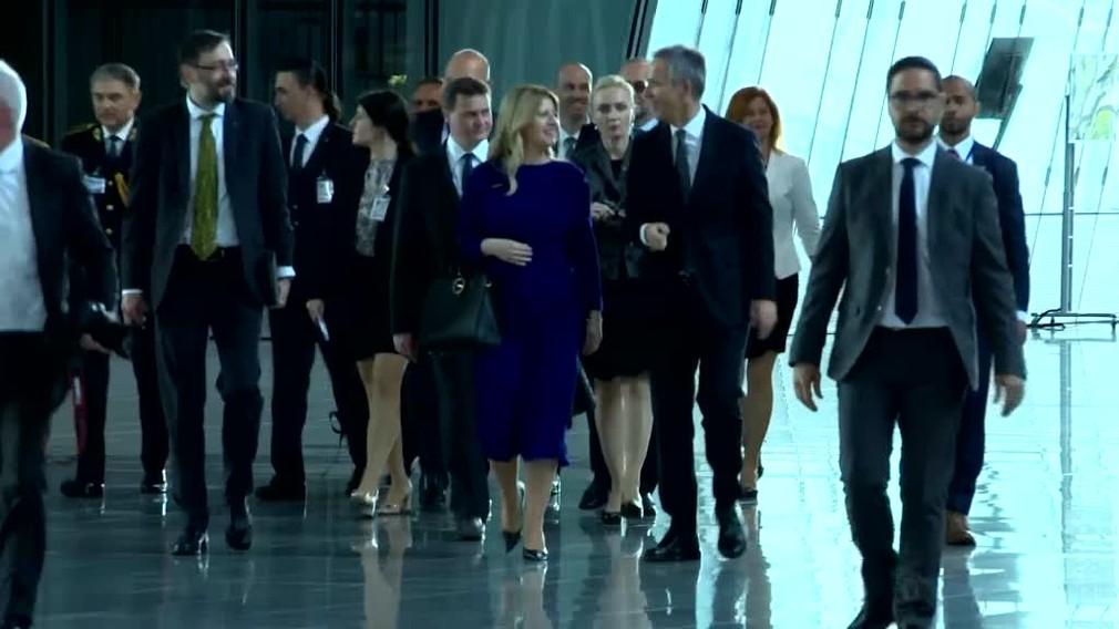 [multi] Prezidentka Čaputová v Bruseli navštívila kráľa, sídlo NATO i Európskej únie 50