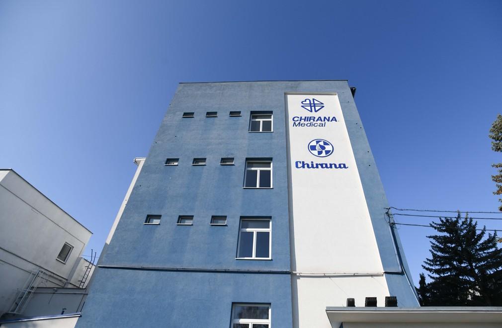 Pľúcne ventilátory v Chirana medical