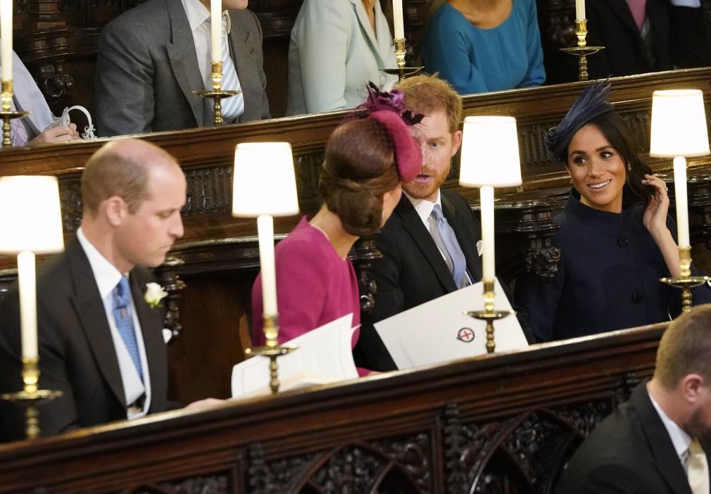 02eb964abcf0 Príchody hostí na kráľovskú svadbu. Kráľovské páry