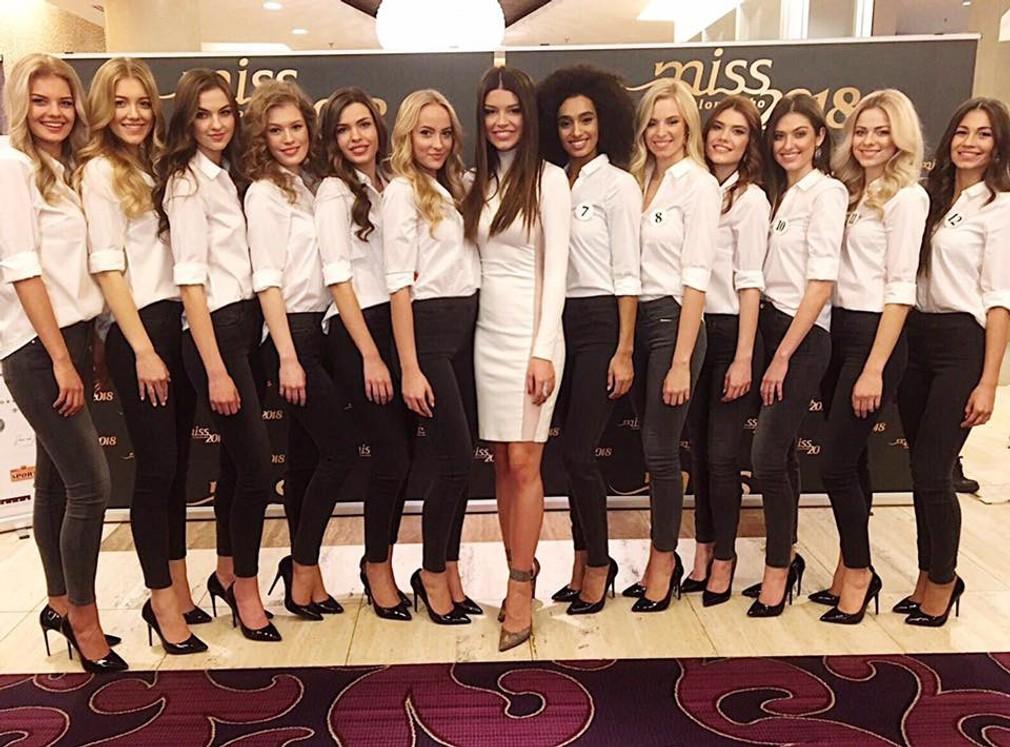 Miss Slovensko  finalistky 2018