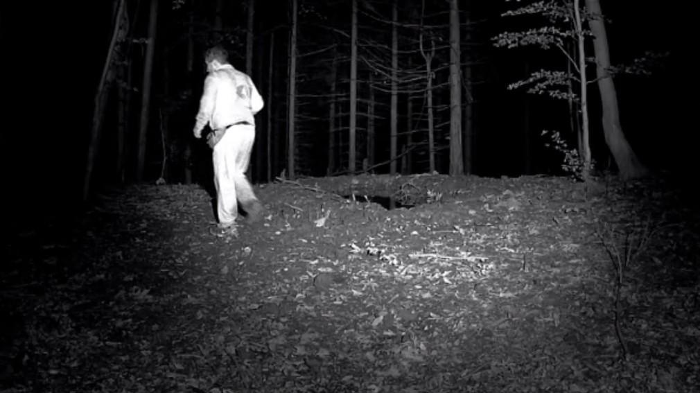 Stratený muž v lese