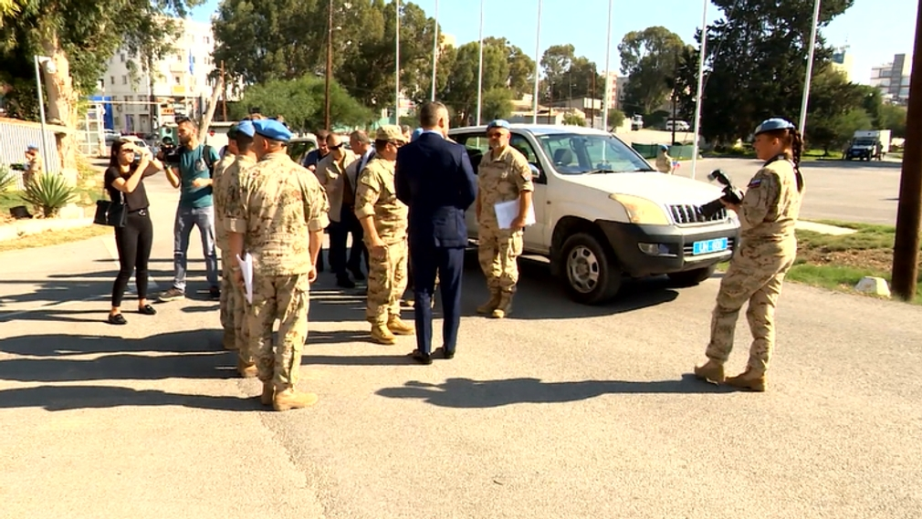 Premiér Pellegrini navštívil demilitarizovanú zónu na Cypre. Situácia je podľa neho vážna