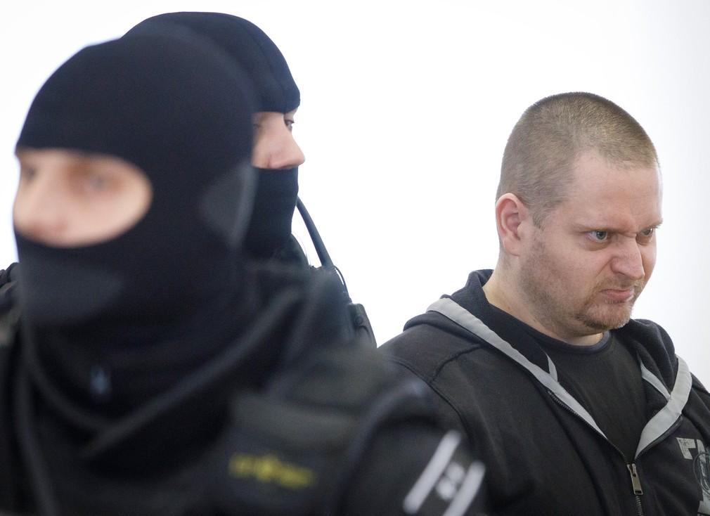 Miroslav Marček na pojednávaní v prípade vraždy Jána Kuciaka a Martiny Kušnírovej