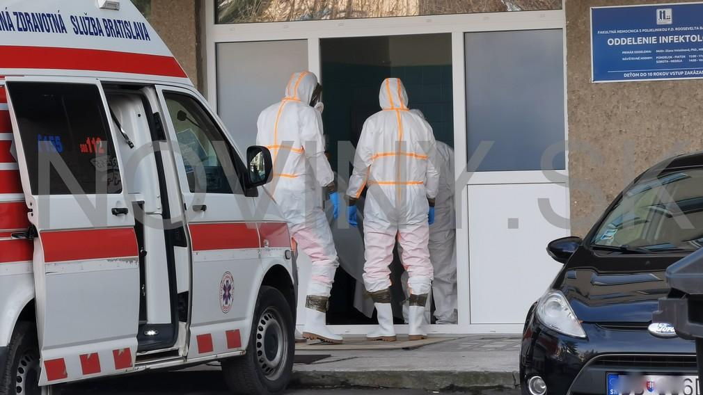 V Banskej Bystrici prijali pacientku s podozrením na koronavírus
